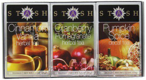 Stash Tea Autumn Teas Trio Gift Set - http://teacoffeestore.com/stash-tea-autumn-teas-trio-gift-set/