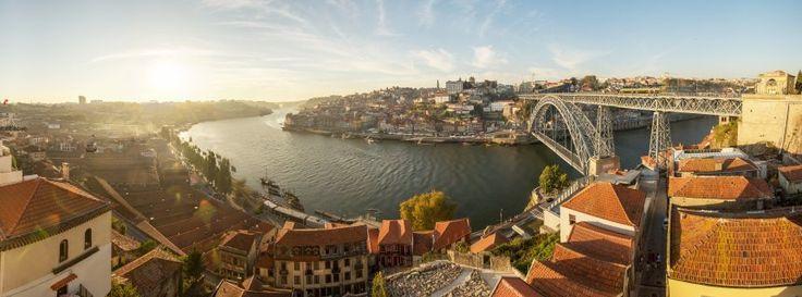 Brückenblick in Porto: Es muss ja nicht immer Lissabon sein