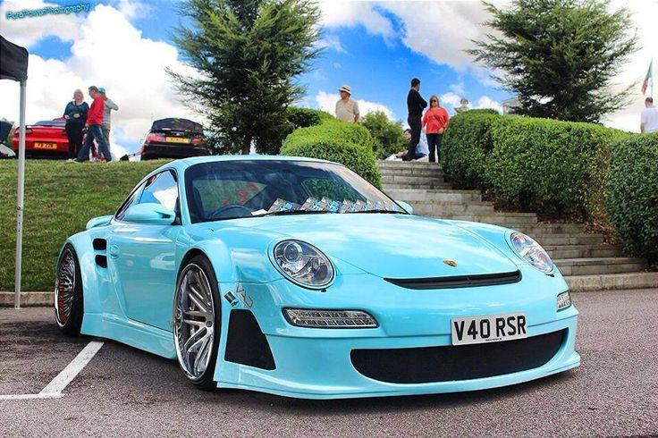 Wide Body Porsche Modern Rides Pinterest
