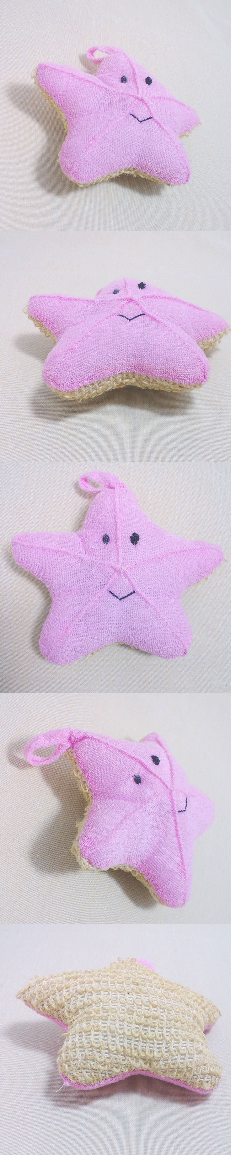 Cute Baby Bath Sponge Cartoon Starfish Super Soft Cotton Brush Rubbing Towel Ball New Bath Gloves   HS11