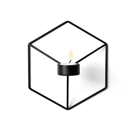 The Minimalist Store / MENU pov candleholder in black