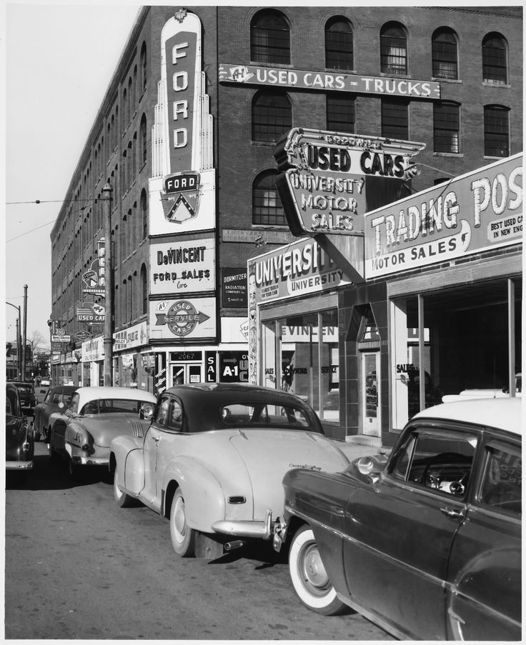 233 best Old Car Lots, Dealerships images on Pinterest | Vintage ...