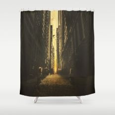 In The Future Shower Curtain