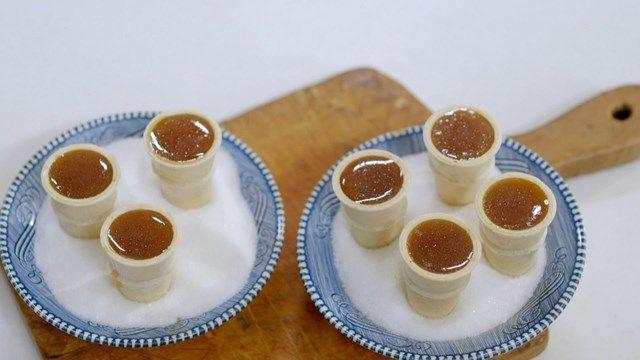 Cornets à la tire d'érable | Cuisine futée, parents pressés