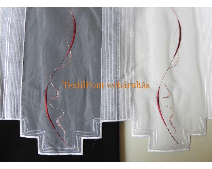 fényáteresztő függöny bordó mintával - Google keresés