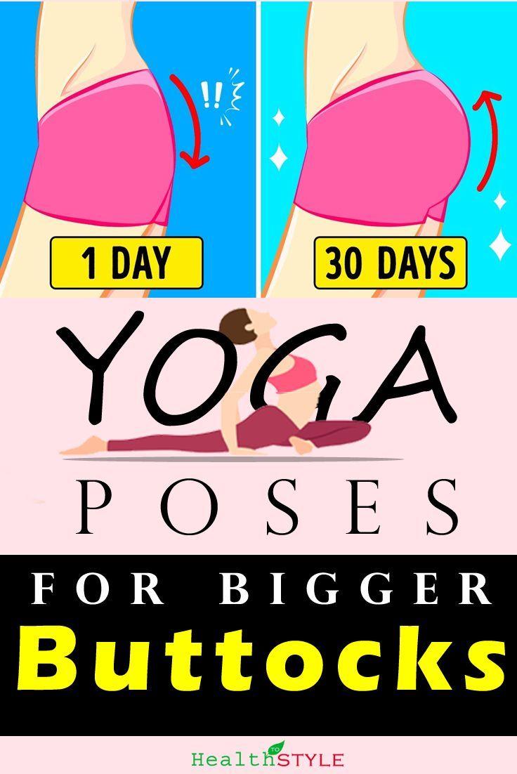 Easy Yoga Poses for Bigger Buttocks. Tone Your Glutes & Hamstrings – #Bigger #bu…