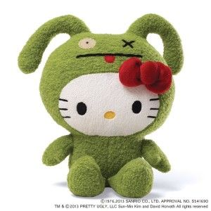 Ugly Dolls: Hello Kitty Ugly Doll Ox – 7 in Plush Super cute. This is a great mash up of cute and cuter, the enigmatic Hello Kitty strangely stuffed into Ox. Nice size and quality plush stuffed animal. http://awsomegadgetsandtoysforgirlsandboys.com/ugly-dolls/ Ugly Dolls: Hello Kitty Ugly Doll Ox – 7 in Plush