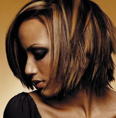 hair color - brown skin