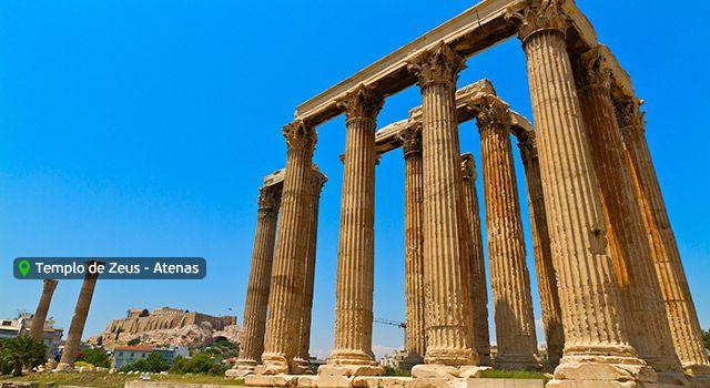 Templo de Zeus - Atenas - Grecia
