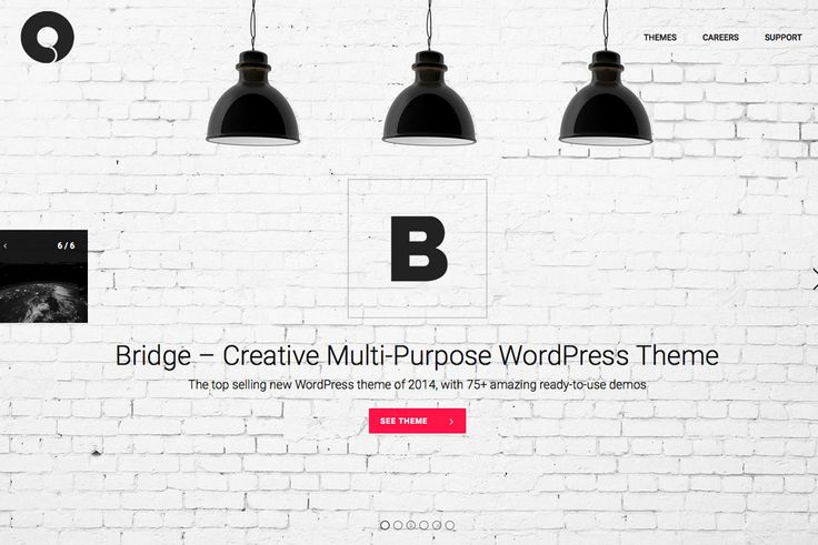 Power-up wordpress with the bridge multi-puporse theme