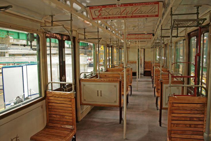 Les 186 meilleures images propos de transports parisiens for Interieur 1960