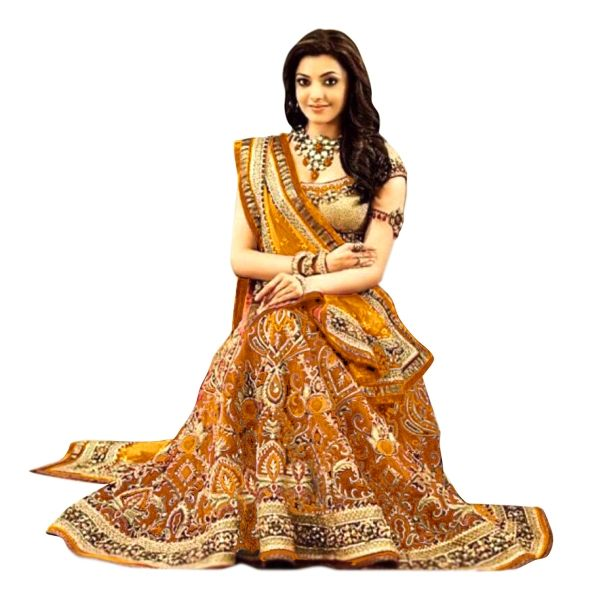 Buy Exclusive Designer Orange Embroidered Georgette Lehenga Choli Online at cheap prices from Shopkio.com: India`s best online shoping site