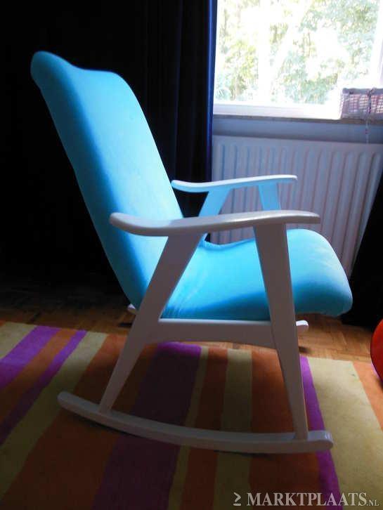 Marktplaats.nl > Deense design schommelstoel/ stoel jaren 50/60 - Huis en Inrichting - Fauteuils