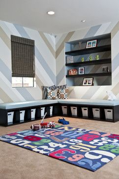 Playroom Wall Decor Ideas | Playroom Decorating Ideas Design Ideas, Pictures, Remodel, and Decor