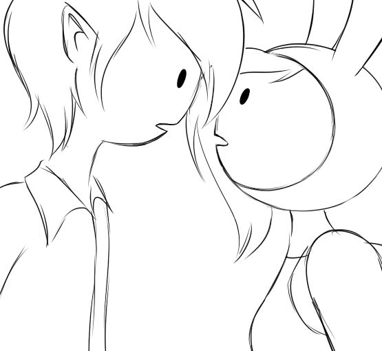 Fionna and Marshall Lee kissing animation by AngelLust155 on deviantART