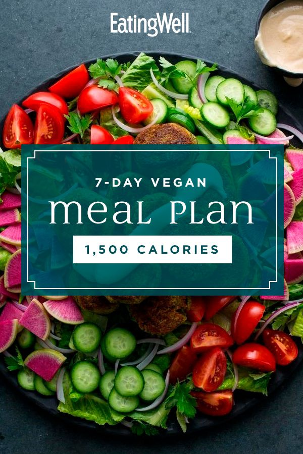 1500 calorie plant based diet 7 days