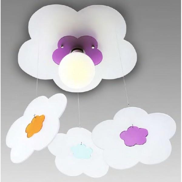 LAMPADA PLAFONIERA MARGHERITA CON PENDENTI  CODICE: 798    Lampada da soffitto a luce diffusa con pendenti.  Diffusore in metacrilato in varie combinazioni di colori con struttura in nichel satinato.  Diffusore disponibile nelle seguenti combinazioni colore:  - bianco/acquamarina (C1/C2)  - bianco/arancione (C1/C4)  - bianco/verde (C1/C5)  - bianco/fucsia (C1/C6)  - giallo/acquamarina (C3/C2)  - giallo/arancione (C3/C4)  - giallo/verde (C3/C5)  - giallo/fucsia (C3/C6)…