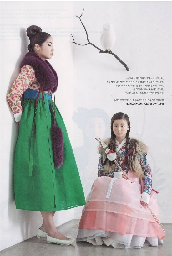 Beautiful Hanbok (Korean Traditional dress)