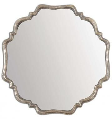 Valentina Mirror - Silver Wall Mirrors - Scalloped Wall Mirrors - Framed Mirrors - Decorative Wall Mirrors - Unique Wall Mirrors - Wall Mirrors - Mirrors | HomeDecorators.com
