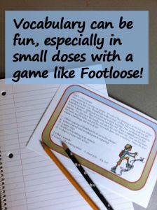 direct vocabulary instruction activities