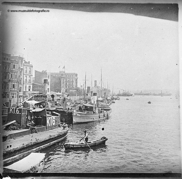 Portul Galati, 1914