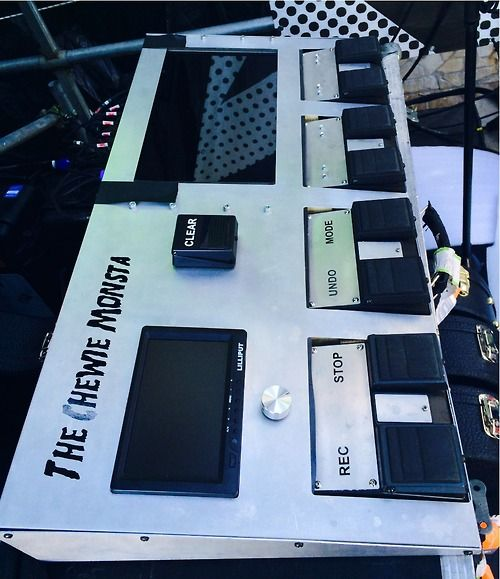 ed's new pedalboard please think back to the old loop pedal and just. this is the perfect visual for how far he has come
