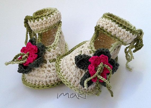 819 best crochet baby images on Pinterest | Babyschuhe, Pantoffeln ...