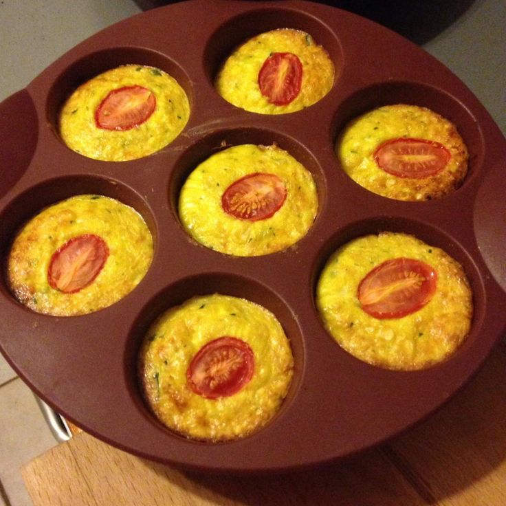 Recipe Little Vege Crustless Quiches by thermobexta - Recipe of category Main dishes - vegetarian