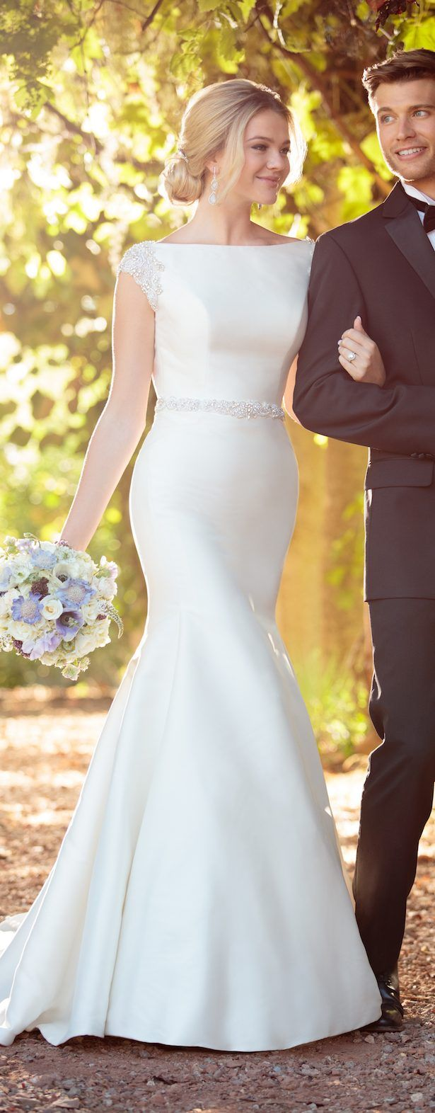 Essense Of Australia Spring 2017 Bridal Collection Belle The Magazine Wedding Dress Organza Simple Gowns Bridal Dresses [ 1572 x 615 Pixel ]