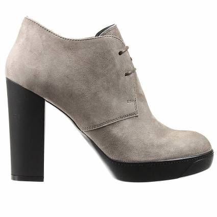 Ankle boots Hogan | Woman | #fashion #style #beige #shoes
