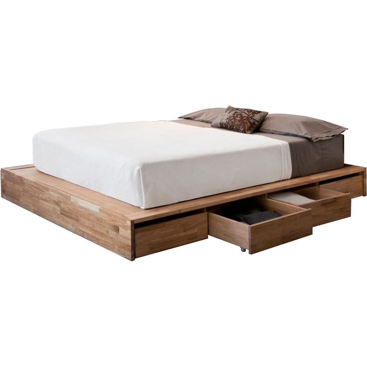 Queen Size Platform Bed With Storage As Well As White Queen Size ...
