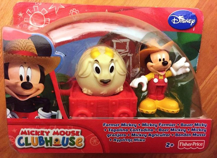 Fisher-Price Disney - Mickey Mouse Clubhouse - Farmer Mickey Figure Playset
