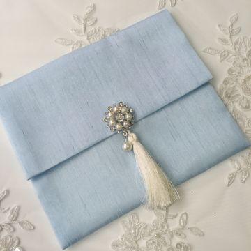 Hediye Kesesi | Mavi (15*20 cm)