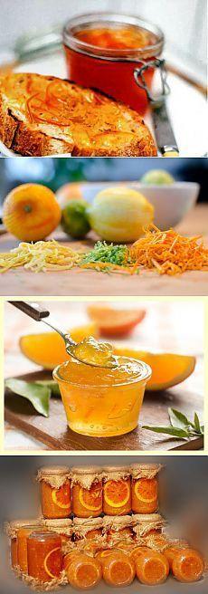 Мармелад рецепт из цитрусовых