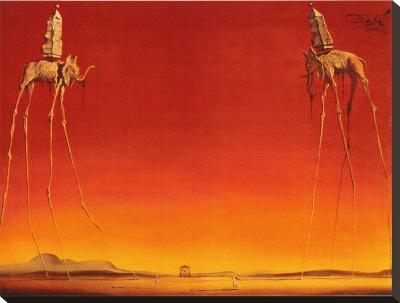 The Elephants- Salvador Dali (1948)