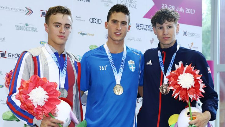 Hutchison lands 400m IM bronze   European Youth Olympic Festival 2017
