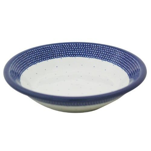 ポーランド食器、Ceramika Artystyczna(ツェラミカ アルティスティッチナ)の、スーププレート No.U4-107パスタにカレー、シチュー、タコライス、なんでもぴったりはまってしまうスーププレート!夏には冷麺に、冷やし中華、素麺などにも使えます。