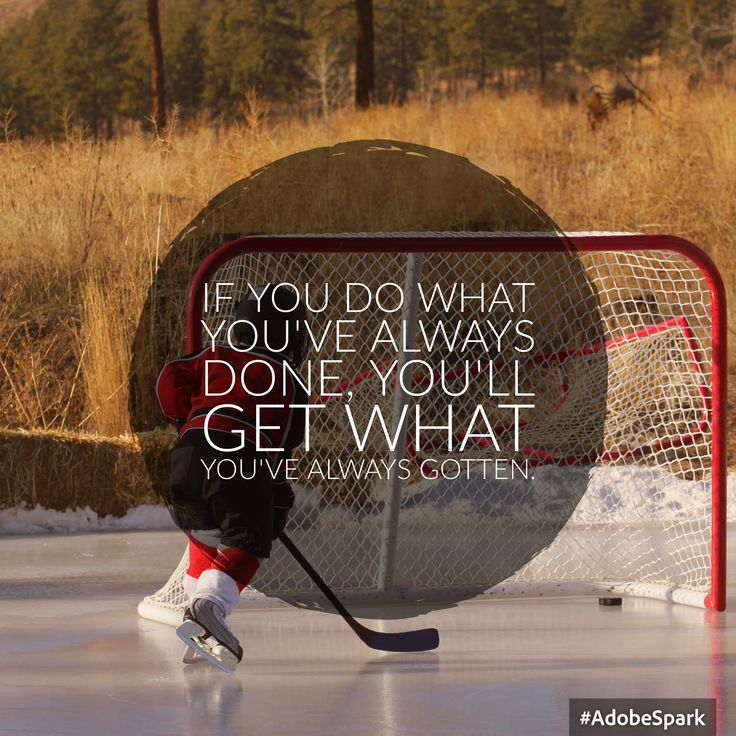 Tony Robbins is the Coaches Coach - Are you courageous enough to make a change?  #hockey #hockeytraining #excellence #dominant #player #system #hockey #hockeyskill #hockeydevelopment