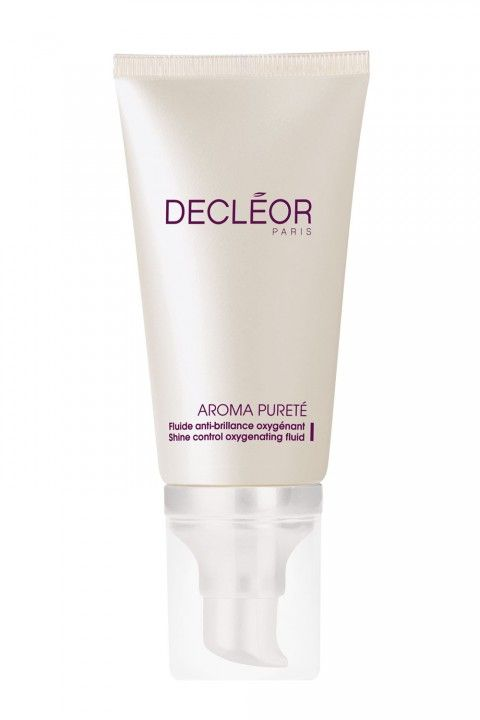 Moisturiser for Oily Skin A firm favourite that can always be found backstage at fashion week, the Decleor Aroma Purete Shine Control Oxygenating Fluid makes an effective base for make up application. Leaving skin mattified