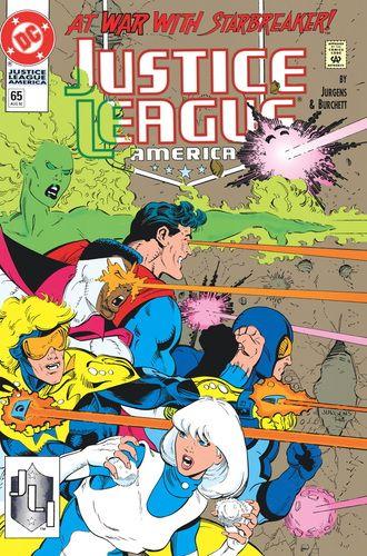 SUPERMAN_AND_THE_JUSTICE_LEAGUE_OF_AMERICA_VOL._1_TP : En estos años 1990 cuentos de JLA # 61-67 y JUSTICE LEAGUE ESPECTACULAR # 1, Superman convence al equipo para ayudar a su antiguo enemigo, Maxima, en la liberación de su mundo natal de un tirano.  Entonces, la JLA debe rescatar al hombre alargado y Sue Dibny de la cuadrilla Escalera Real | masacre80