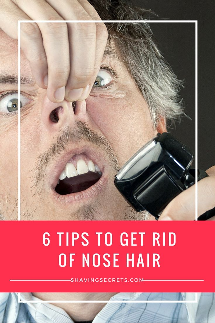 6 simple ways how to get rid of nose hair easily health