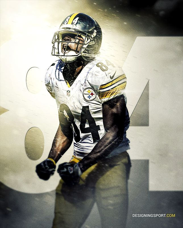 Antonio Brown, Pittsburgh Steelers                                                                                                                                                                                 More