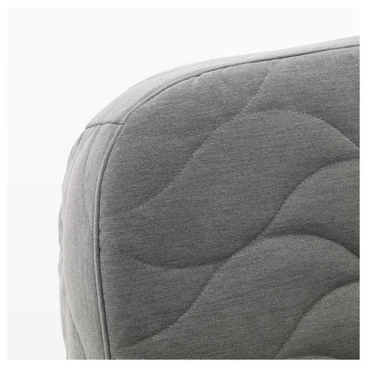 NYHAMN Sofabed With Foam Mattress, Knisa Gray/beige