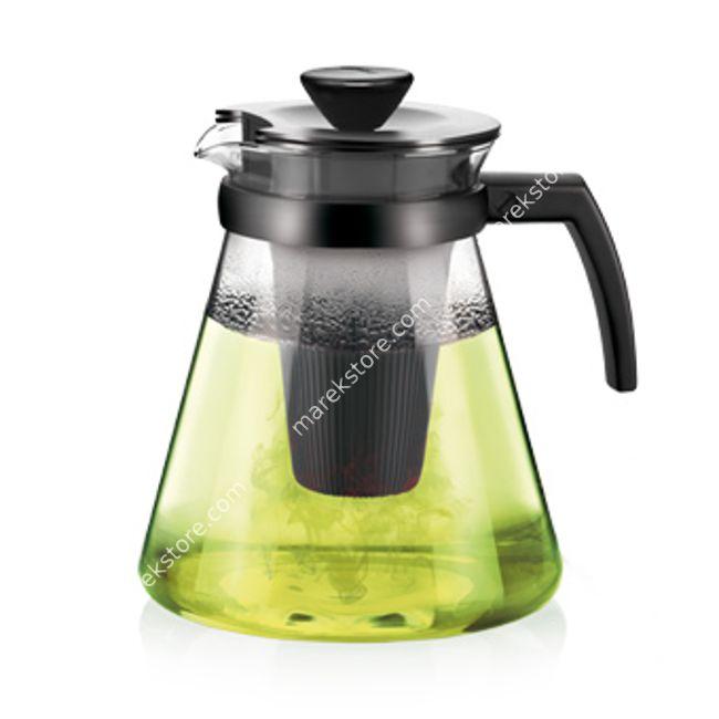 Zaparzacz do herbaty szklany z wyjmowanym sitkiem - pojemność 1,75 litra   Tescoma   52,00 zł