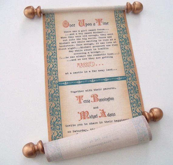 28 Best Medieval Wedding Invitations Images On Pinterest: Best 25+ Scroll Invitation Ideas On Pinterest