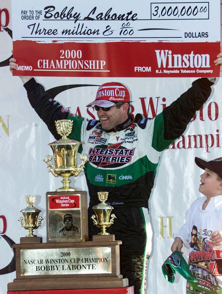 2000: Bobby Labonte : NASCAR champions: from Grand Nationals through Sprint Cup