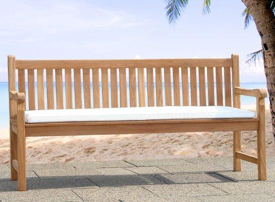 Sitzkissen Gartenbank Weisse Farbe Des Materials Waren Komfortabel