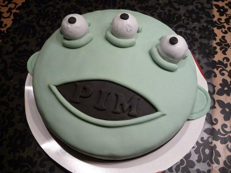 Alien taart