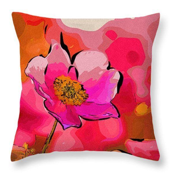 Art Prints Flowers Throw Pillow  #flowers #art #poster #gifts