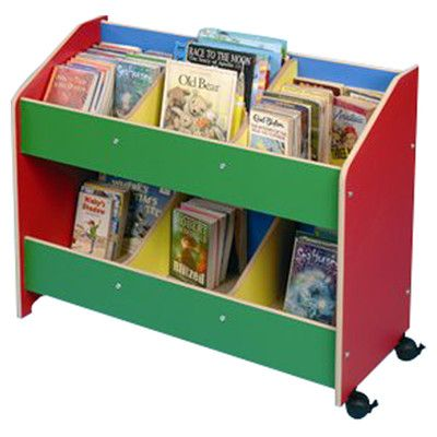 Twoey Toys Low Wide Multicoloured Children's Bookcase & Reviews | Wayfair UK